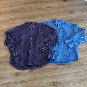 Bundle of dress shirts